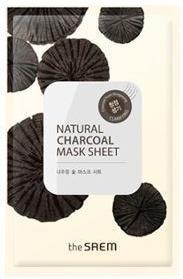 The Saem Natural Charcoal Mask Sheet фото