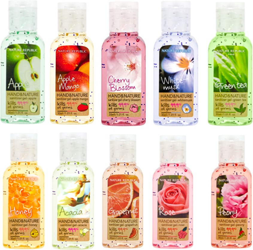 Nature Republic Hand And Nature Sanitizer Gel