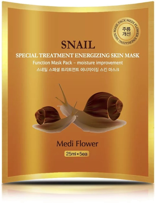 Medi Flower Special Treatment Energizing Mask Pack Snail фото