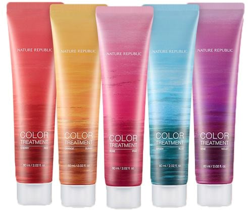 Nature Republic Hair And Nature Color Treatment фото
