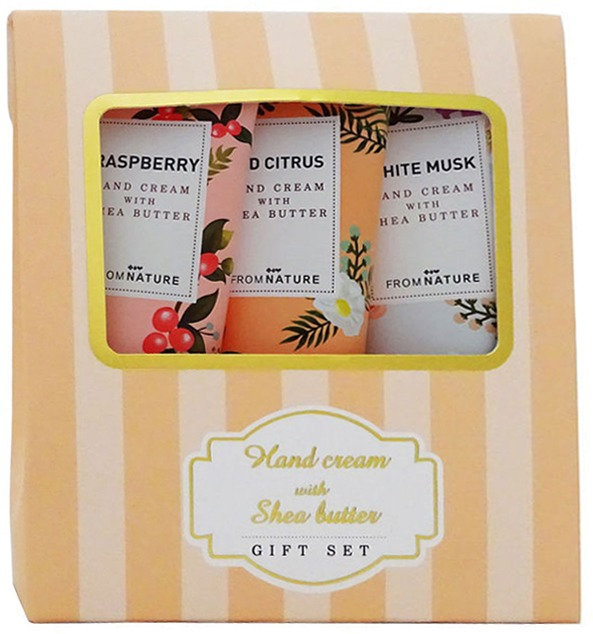 From Nature Hand Cream With Shea Butter Gift Set фото