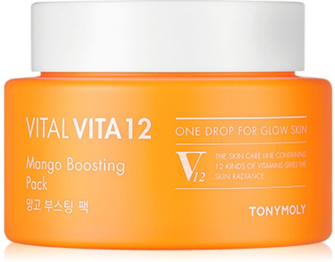Tony Moly Vital Vita Mango Boosting Pack фото