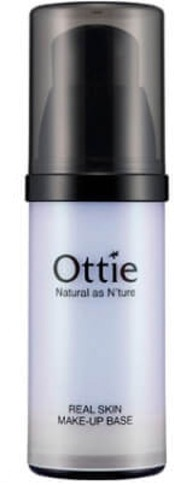 Ottie Real Skin Makeup Base Violet Airless Bottle фото