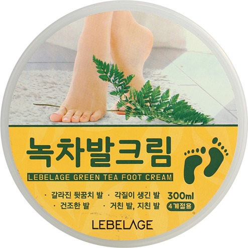 Lebelage Green Tea Foot Cream