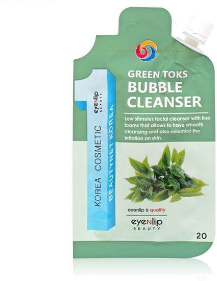 Eyenlip Pocket Green Toks Bubble Cleanser фото
