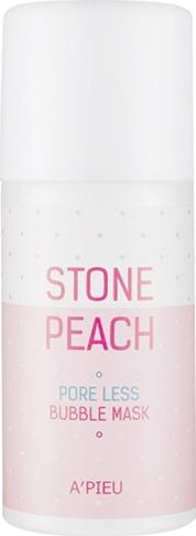 APieu Stone Peach Pore Less Bubble Mask