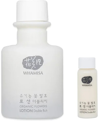 Whamisa Organic Flowers Lotion Double Rich Natural Fermentation фото