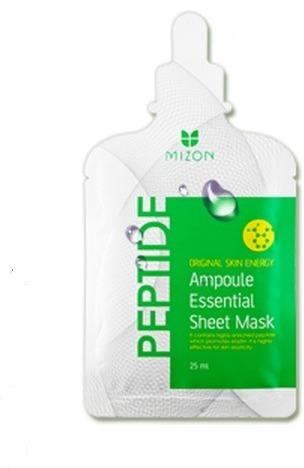 Mizon Peptide Ampoule Essential Sheet Mask фото