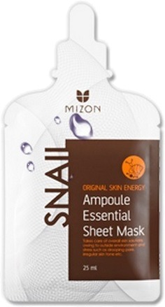 Mizon Snail Ampoule Essential Sheet Mask