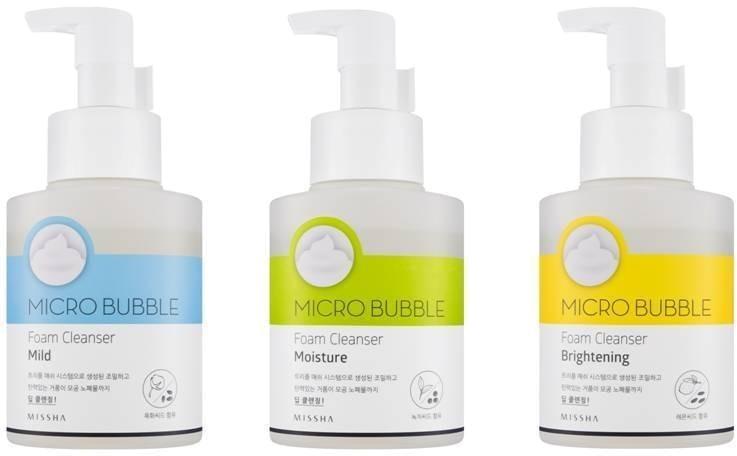 Missha Micro Bubble Foam Cleanser фото