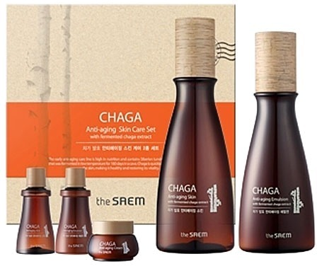 The Saem Chaga AntiAging SKU Basic Skin Care Set фото