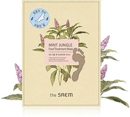 The Saem Mint Jungle Foot Treatment Mask