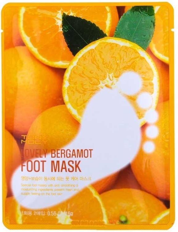 Tony Moly Lovely Bergamot Foot Mask
