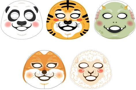 The Face Shop Mask Character