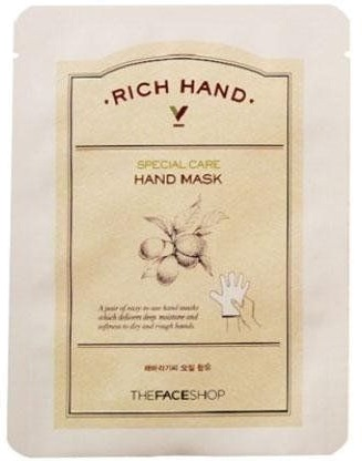 The Face Shop Rich Hand Care Mask фото