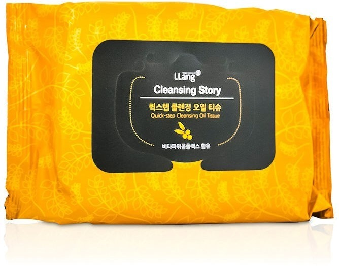 Llang Quickstep Cleansing Oil Tissue.