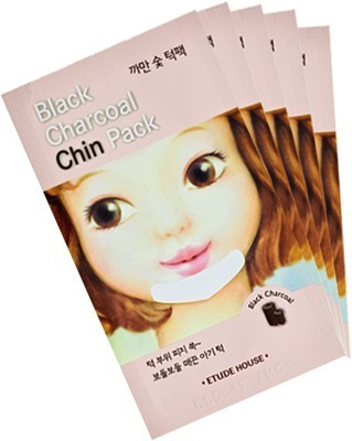 Etude House Black Charcoal Chin Pack фото