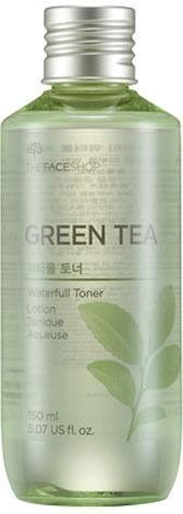 The Face Shop Green Tea Waterfull Toner