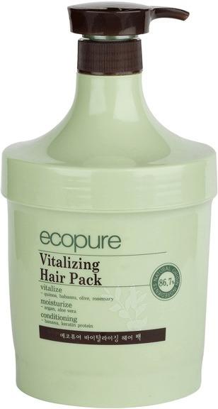 Ecopure Vitalizing Hair Pack.
