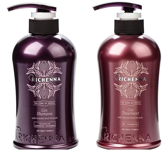 Richenna Gin ShampooampTreatment.