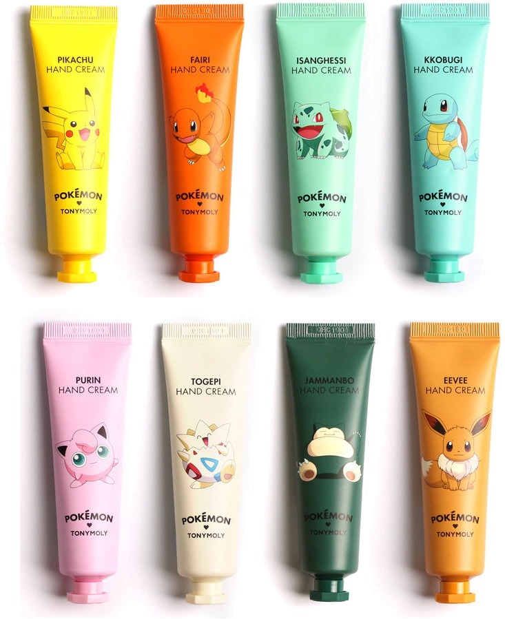 Tony Moly Hand Cream Pokemon Edition