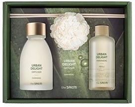The Saem Urban Delight Candle Harakeke Set