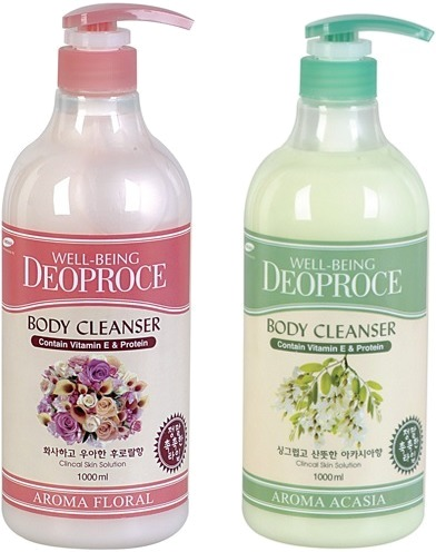 Гель для душа Deoproce Well-Being Aroma Body Cleanser