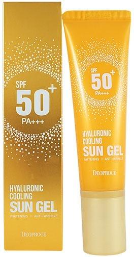 Deoproce Hyaluronic Cooling Sun Gel SPF PA фото