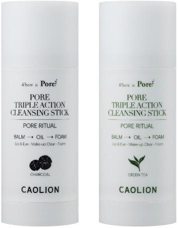 Caolion Pore Triple Action Cleansing Stick.