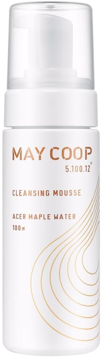 May Coop Cleansing MousseКорейский бренд May Coop &amp;ndash; первая в мире марка, которая производит косметику на основе кленового сока. Из-за своего маленького размер молекулы сока способны проникать вглубь эпидермиса, насыщая клетки влагой и питая их. Сок клёна собирают поздней весной, когда дерево наиболее активно. Мусс May Coop Cleansing Mousse состоит из кленового сока на 70%. Экстракты винограда, сосны, бурого риса, березы, оливы, каштана, чёрной смородины, брусники, зародышей пшеницы, кукурузы, протеинов сои мягко и эффективно очищают кожу, насыщают её витаминами и микроэлементами. Фруктан (производное вещество фруктозы) отвечает за противовоспалительный эффект мусса.<br><br>Средство с лёгкой пенистой текстурой подойдёт для всех типов кожи, в том числе для чувствительной. Благодаря флакону с помпой мусс May Coop Cleansing Mousse не прольётся в сумке, поэтому его удобно брать с собой в поездки или в спортзал.<br><br>&amp;nbsp;<br><br>Объём: 150 мл.<br><br>&amp;nbsp;<br><br>Способ применения:<br><br>Перед применением слегка встряхните флакон. Нанесите мусс на влажную кожу и мягкими движениями помассируйте лицо. Смойте тёплой или прохладной водой.<br>