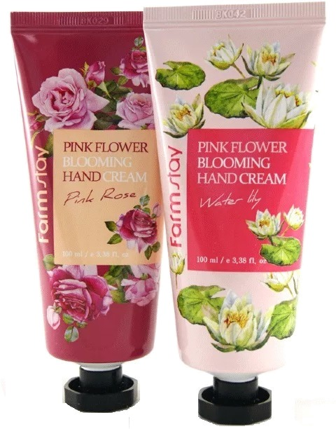 Farmstay Pink Flower Blooming Hand Cream фото