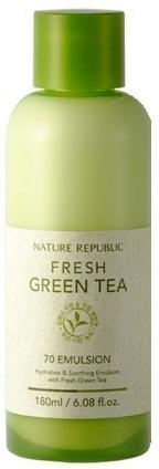 Nature Republic Fresh Green Tea Emulsion фото