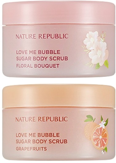Nature Republic Love Me Bubble Sugar Body