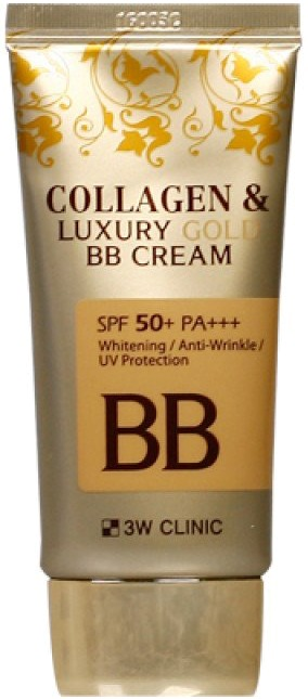 W Clinic Collagen and Luxury Gold BB Cream SPF PA фото