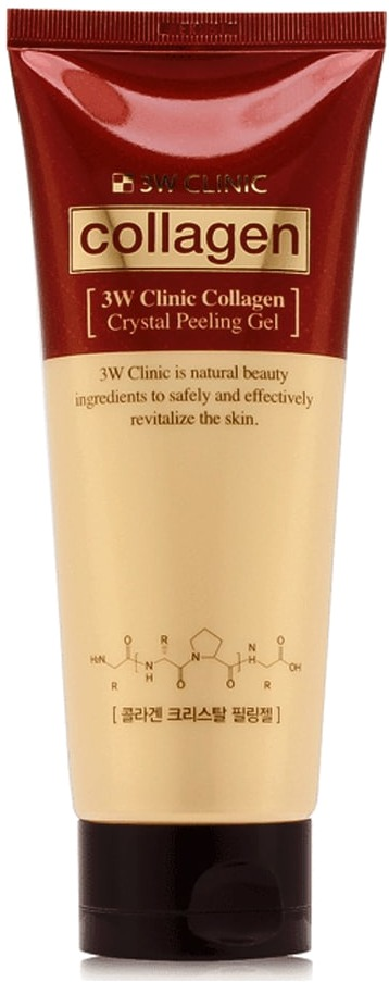 Купить W Clinic Collagen Crystal Peeling Gel, 3W Clinic