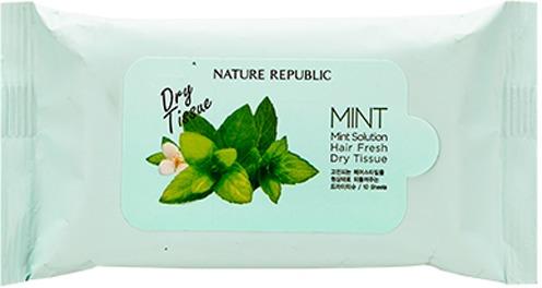 Nature Republic Mint Solution Hair Fresh Dry Tissue фото