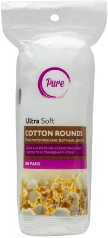 Pure Ultra Soft Cotton Rounds