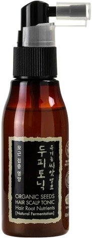 Whamisa Organic Seeds Hair Scalp Tonic For Hair Root Nutrient Natural Fermentation.