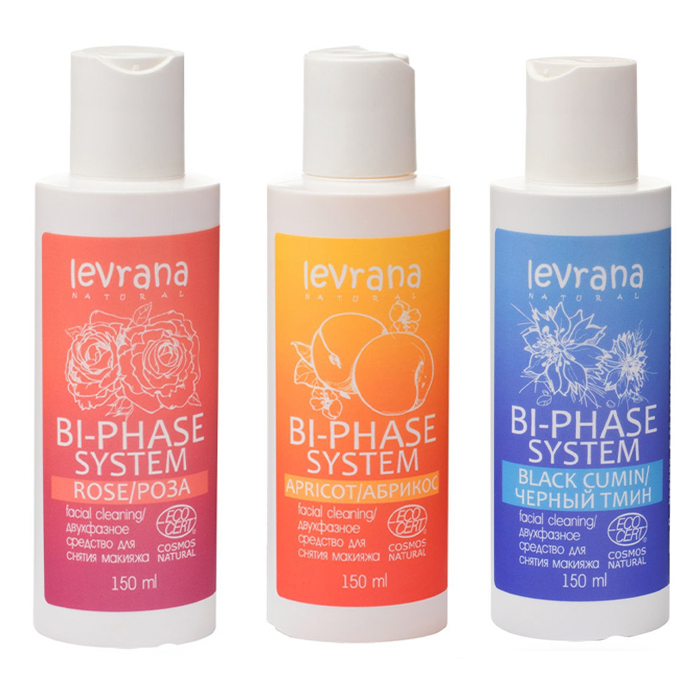 Средство для снятия макияжа Levrana Двухфазное средство для снятия макияжа