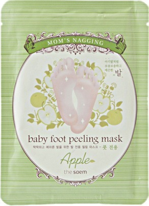 The Saem Moms Nagging Baby Foot Peeling Mask