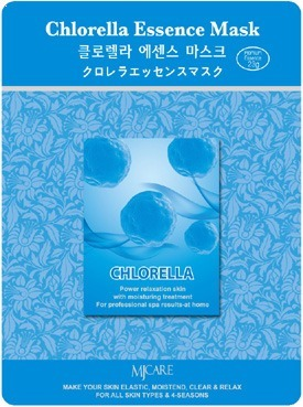 Mijin Cosmetics Chlorella Essence Mask.