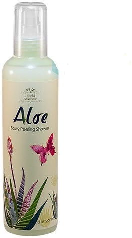 The Saem World Souvenir Aloe Body Peeling Shower