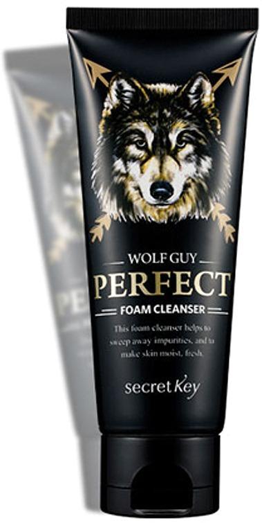 Secret Key Wolf Guy Perfect Foam Cleanser