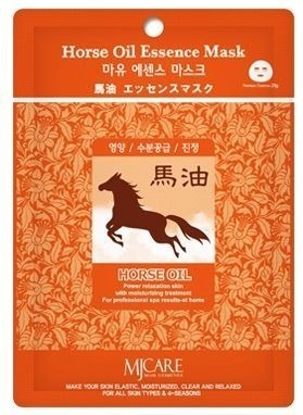 Mijin Cosmetics Horse Oil Essence Mask фото