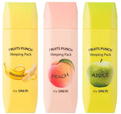 The Saem Fruits Punch Sleeping Pack фото