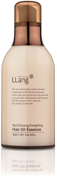 Llang Red Ginseng Energizing Hair Oil Essence.