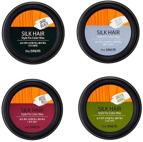 The Saem Silk Hair Style Fix Color Wax