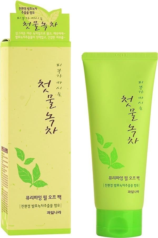 Welcos Green Tea Purifying Peel Off Pack фото