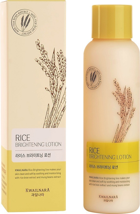 Welcos Rice Brightening Lotion фото