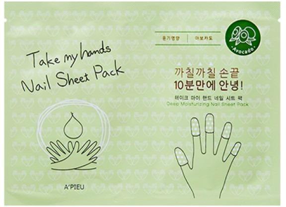APieu Take My Hand Nail Sheet Pack